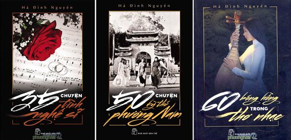 Các tác phẩm của Hà Đình Nguyên được Nhà xuất bản Trẻ ấn hành nhân dịp tác giả tròn 60 tuổi.